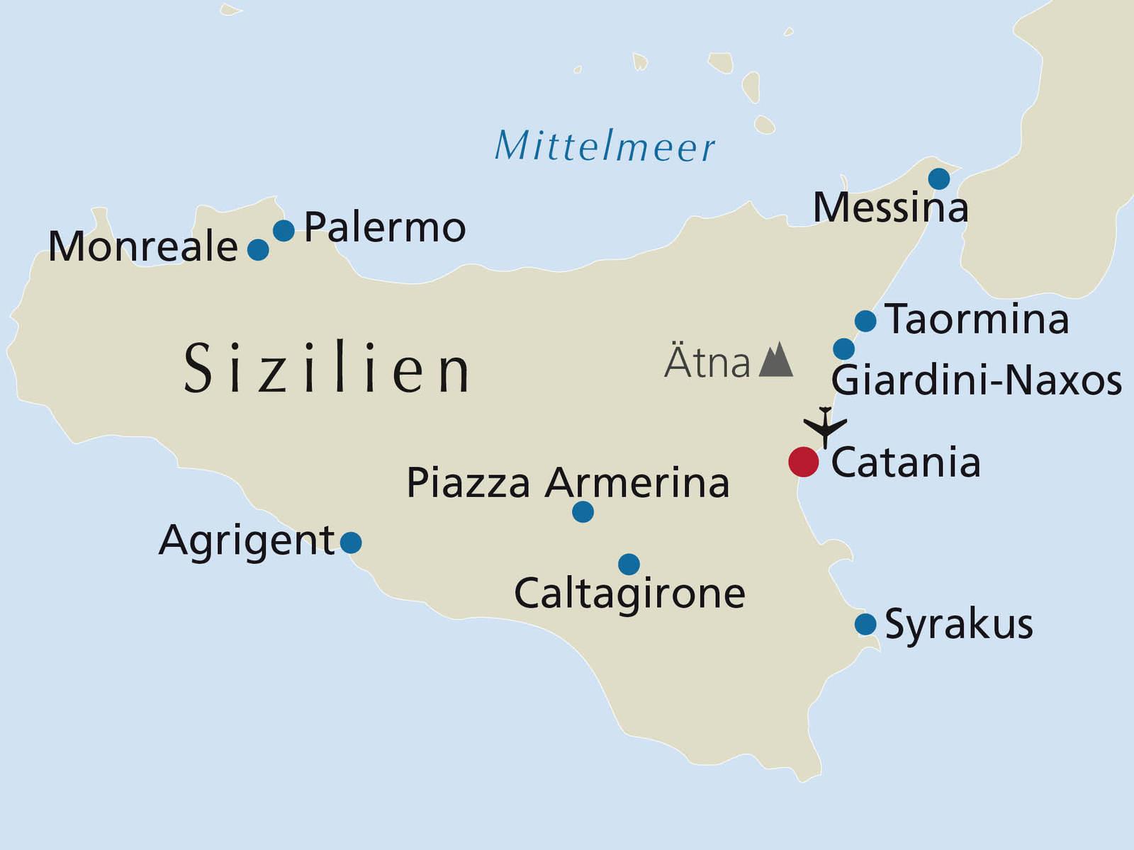 Sizilien 8 Tage Rsd Reisen De
